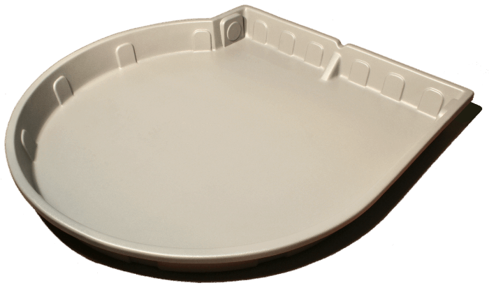 Round Tray Side